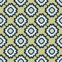 motivo geometrico astratto. sfondo etnico orientale floreale. ornamento arabo. motivi ornamentali dei dipinti di antichi modelli di tessuti indiani. vettore