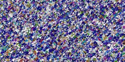 sfondo vettoriale multicolore chiaro con stile poligonale.