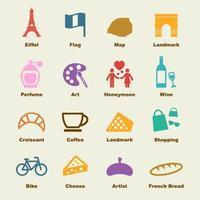 elementi vettoriali di Parigi