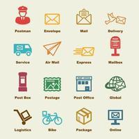 elementi del servizio postale vettore