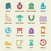 elementi del vettore di storia