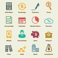 contabilità elementi vettoriali