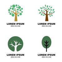logo vettoriale albero