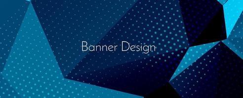 moderno ed elegante astratto geometrico elegante banner pattern di sfondo vettore