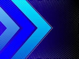 modello di sfondo moderno blu geometrico sfumato astratto vettore