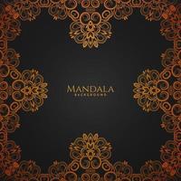 mandala design decorativo elegante sfondo reale vettore