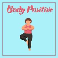 concetto positivo del corpo vettore
