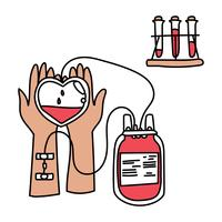 Donare il sangue vettore