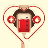 Raccolta di sangue vettore