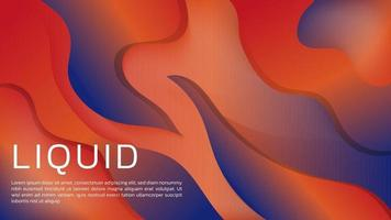 astratto sfondo sfumato liquido 3d con colori tenui per la pagina di destinazione web e lo sfondo vettore