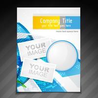design brochure aziendale vettore