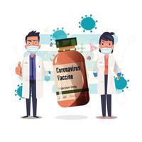 medici con vaccino vettore