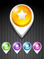 icona stella vettore