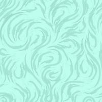 motivo marino vettoriale astratto di linee morbide sotto forma di spirali di anelli e riccioli. texture per la progettazione di tessuti o involucri da onde o schizzi di colore turchese.