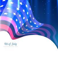 americano il 4 luglio vettore