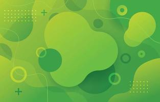 sfondo verde fluido vettore