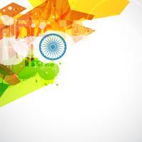 design bandiera indiana vettore