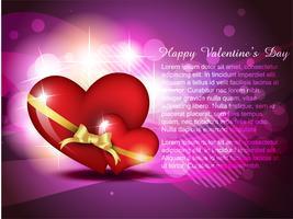 cuore di San Valentino vettore