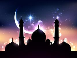 disegno vettoriale ramadan