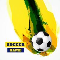 gioco di calcio astratto vettore