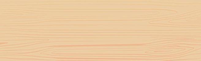 trama panoramica di legno chiaro con nodi - vettore