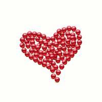 cuore vettoriale