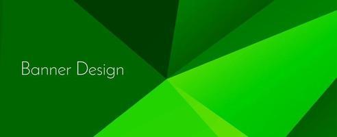 fondo della bandiera di progettazione decorativa geometrica elegante astratta vettore