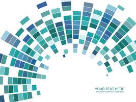 vettore mosaico colorato