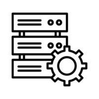 icona delle impostazioni del database vettore