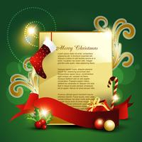 vettore di sfondo di Natale