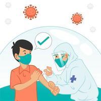 nuovo vaccino normale vettore