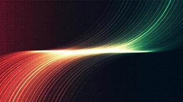 sfondo astratto tecnologia luce digitale vettore