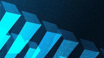 sfondo blu tecnologia astratta vettore
