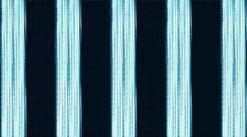 cyber luce sullo sfondo del microchip del circuito vettore