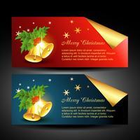 vector etichette natalizie