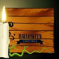 candela di Halloween