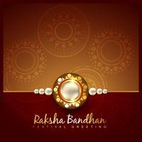 raksha bandhan festival design vettore