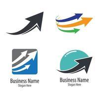 immagini del logo della freccia vettore