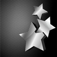 sfondo metallico scuro vettore
