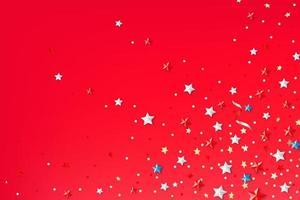 sfondo astratto con stelle di colore vettore
