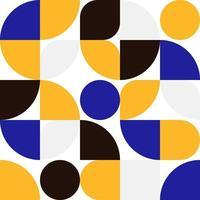 fondo di progettazione minima del modello di forma sinple geometrica astratta vettore