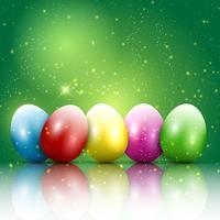 Sfondo uovo di Pasqua vettore