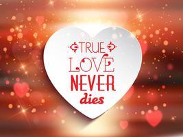 Sfondo amore di San Valentino vettore
