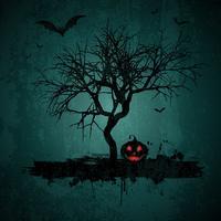 Sfondo di Halloween grunge vettore