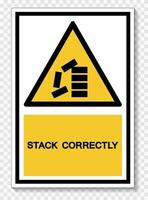ppe icon. stack correttamente simbolo segno isolato su sfondo bianco, illustrazione vettoriale eps.10