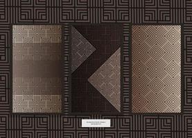 design pattern etnico vettore