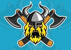 illustrazione vettoriale di viking