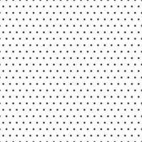 illustratore di vettore del fondo del modello di pois in bianco e nero