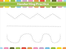 gioco di tracciamento educativo per bambini vettore
