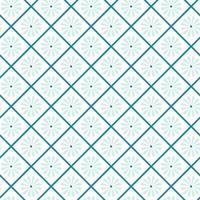 seamless giapponese con fiori e quadrati. vettore sfondo blu geometrico. struttura del fiore blocco di stampa per tessuto, tessuto per abbigliamento, carta da imballaggio. grafica vettoriale orientale minima.